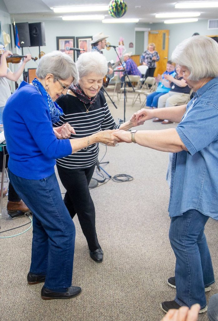 Ladies enjoying activities at Friendship Towers