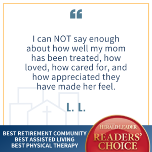 Readers Choice Testimonial