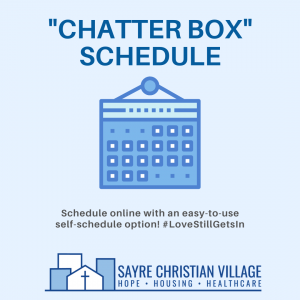 Chatter Box Schedule