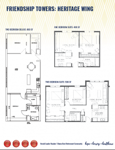 Friendship Towers Unit Layouts 2