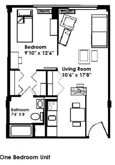 Sayre Christian Village Baunta Floor Plan 1