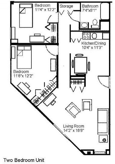 Sayre Christian Village Baunta Floor Plan 2